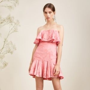 Keepsake The Label Radar Strapless Mini Dress